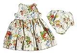 Polo_Ralph Lauren Mädchen Dekolletiertes Kleid Gr. 6 Monate, Mehrfarbig