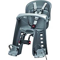 Polisport 67865 - Asiento infantil para bicicleta, color gris