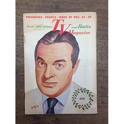 TV and Radio Magazine. December 23-29, 1956. [Bob Hope Cover]