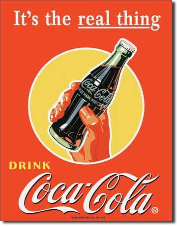coca-cola-coke-il-vero-vintage-tin-sign