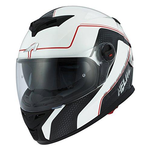 Astone Helmets gt800-alveo-rwl casco Moto Integral GT 800, rojo/blanco