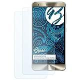 Bruni Schutzfolie für Asus ZenFone 3 Deluxe ZS570KL Folie, glasklare Bildschirmschutzfolie (2X)