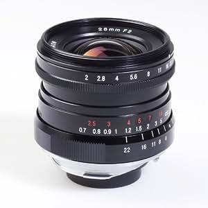 Voigtlander Objectif F2/28mm Ultron Monture M Noir