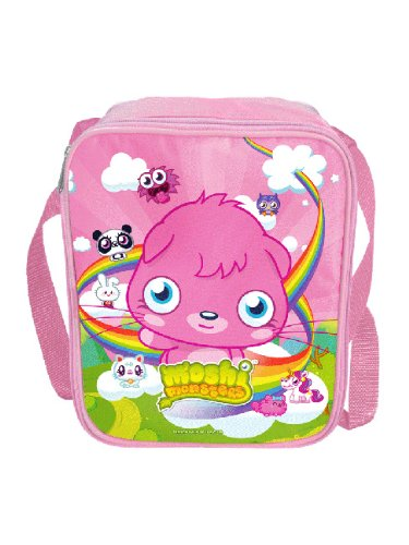 Image of Moshi Monsters Poppet Insulated Lunch Bag & Aluminium Drinks Bottle Combo