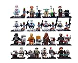 16 Stück Star Wars Mini Figuren Vader Darth Han Solo Yoda Skywalker passen lego