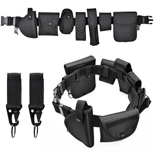 Police Gürtel Security Tactical Equipment System Army Heavy Duty Nylon Gürtel Set Outdoor vielseitig Combat Military Black Belt Kit