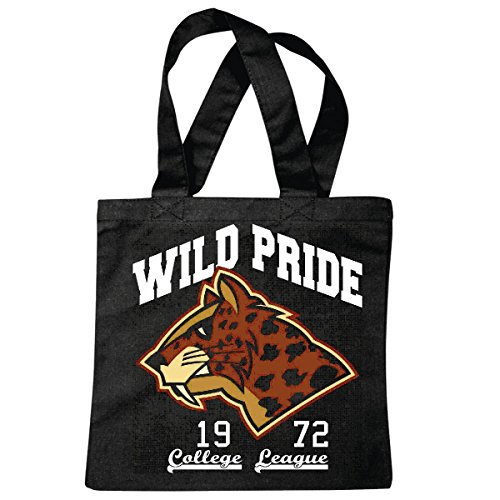 sac à bandoulière WILD PRIDE COLLEGE LEAGUE 1972 TIGER WILD ANIMAL FAUNE ANIMAL PREY USA AMÉRIQUE LOS ANGELES CALIFORNIA BROOKLYN NEW YORK CITY MANHATTAN RUGBY BASEBALL FOOTBALL FOOTBALL Sac école T