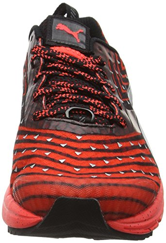 Puma Speed300igntrf6, Chaussures Multisport Outdoor Mixte Adulte Rouge (Red/Black/Silver 01)