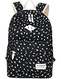 Amazon leaper bags wallets and luggage school bookbags for girls floral backpack college bags light daypack haversack bag by leaper fandeluxe Image collections