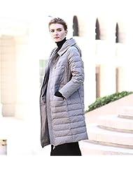 YRF Robes de l'hiver. Manteaux de droite Uni. Manteau à capuchon. Manches longues épaisse doudoune