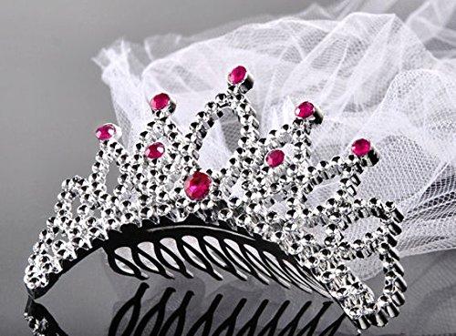Verkauf durch Lollipop 1 Stück Dekorative Krone (Haarkämmchen) mit ()