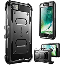 "i-Blason Armorbox 4.7"" Carcasa rígida Negro - Fundas para teléfonos móviles (Carcasa rígida, Apple, iPhone 7, 11,9 cm (4.7""), Negro)"