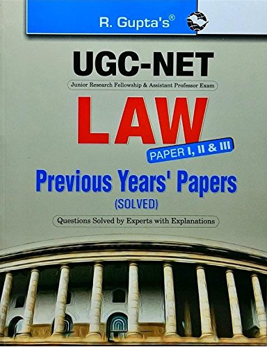 CBSE UGC-NET LAW Previous Years Paper I, II & III: Previous Years' Papers Solved (Popular Master Guide)