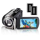 Caméscope vidéo, iBosi Cheng Full HD 1080P avec 24,0MP, écran ACL de 270 mm, Appareil Photo numérique portatif pour Appareil Photo Youtube Vlogging, enregistreur de caméra avec Zoom numérique 16X