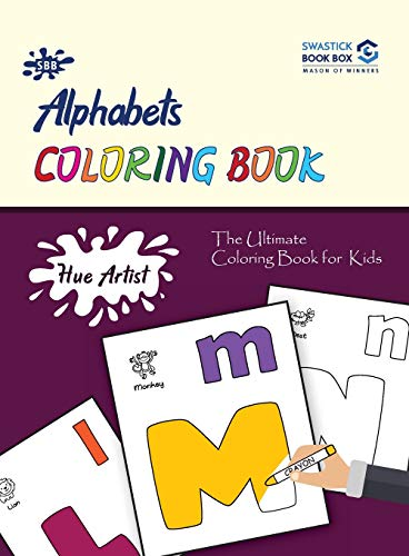 Hue Artist - Alphabets Colouring Book