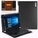 Broonel London - Profile Series - Etui noir en cuir de luxe pour ordinateur portable pourToshiba Portege X30
