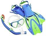 Aqua Lung Sport La Costa Junior Pro Dive Kinder 3er Set inkl. Beutel - 32-35 aqua
