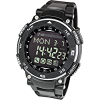 [Lad Weather] Smart Gear for iphone and Android / Digital smart watch for Men Sports Running watch