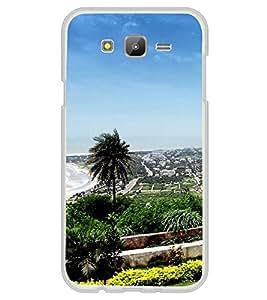 Fuson Designer Back Case Cover for Samsung Galaxy E5 (2015) :: Samsung Galaxy E5 Duos :: Samsung Galaxy E5 E500F E500H E500Hq E500M E500F/Ds E500H/Ds E500M/Ds (Beach View City Photography vizag City Of destiny)