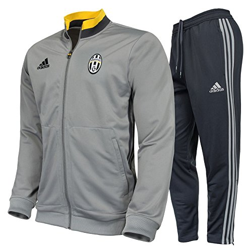 adidas Herren Juventus Turin Trainingsanzug, Collegiate Gold/Dark Grey/Ch Solid Grey, XS