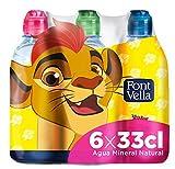 Font Vella Agua Mineral con tapón infantil - Pack 6 x 33cl
