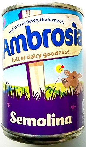 Ambrosia en crème de semoule 3 x 400gm