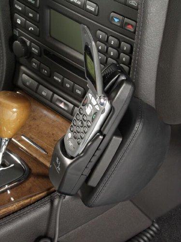 KUDA 097125 Halterung Echtleder Cream (33154) für Jaguar S-Type ab 03/2002 bis 02/2008