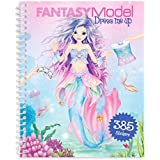 Depesche 10445 Livre de coloriage Dress me up Motif Fantastique Multicolore
