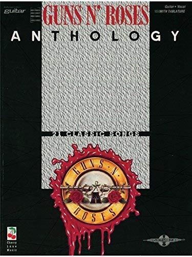 The Guns N Roses Anthology. For Tablatura di Chitarra(con le griglie degli accordi)