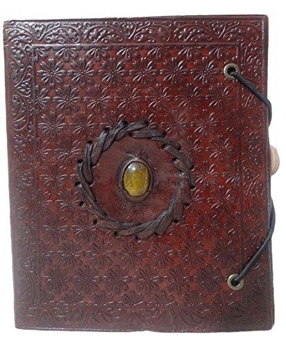 Mad Over Shopping, vera pelle Libro delle ombre Diario classico Wicca Memory Journal