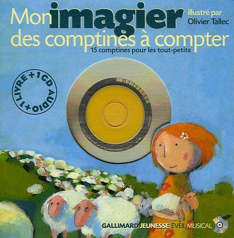 Mon imagier des comptines à compter (1CD audio)