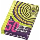 Moses Verlag 3653 - 50 mejores ilusiones ópticas [importado de Alemania]