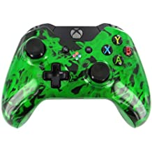 """""""Green Smoker"""" Xbox ONE Custom Modded Controller Exclusive Design - COD Ready ..."""