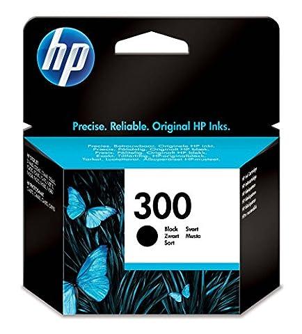 HP 300 Cartouche d'Encre Noir Authentique (CC640EE)