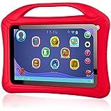 """Xoro KidsPAD 90222,9cm (9"""") Tablette PC pour Enfant (Rockchip rk3126, Quad Core 1.3GHz, 1Go de RAM, 8Go SSD, Wifi, Bluetooth 4.0, 2x Cam, Android 4.4.4KitKat) avec étui de protection en silicone rouge"""
