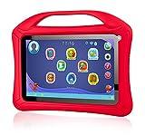 Xoro KidsPAD 902 rot 22.9 cm (9,0 Zoll) Tablet-PC für Kinder (Rockchip RK3126, Quad Core 1.3GHz, 1GB RAM, 8GB SSD, WLAN, Bluetooth 4.0, 2x CAM, Android 4.4.4 KitKat) inkl. Roter Silikon-Schutzhülle