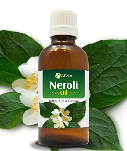 NEROLI OIL 100{29dd7250ab3152797604b76d591373463ed78bc5ec85bceca4cddc7a12bc93bb} NATURAL PURE UNDILUTED UNCUT ESSENTIAL OILS 15ML by Salvia