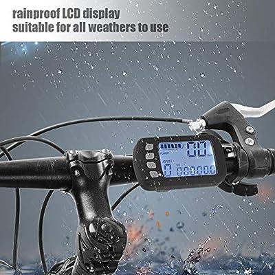 Motor Speed Controller,24V/36V 250W/350W Brushless Controller wasserdichte LCD-Anzeigetafel für E-Bike Elektro Bike Roller