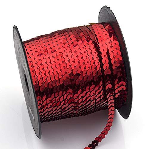 Disfraz de lentejuelas redondas para costura