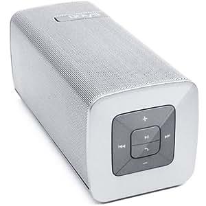 odys rave 2in1 mobile mini bluetooth soundbar und freisprechanlage mit integr mikrophon wei. Black Bedroom Furniture Sets. Home Design Ideas