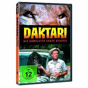 DAKTARI The Complete First Season (4 DVDs) (PAL - UK) (Region 2)