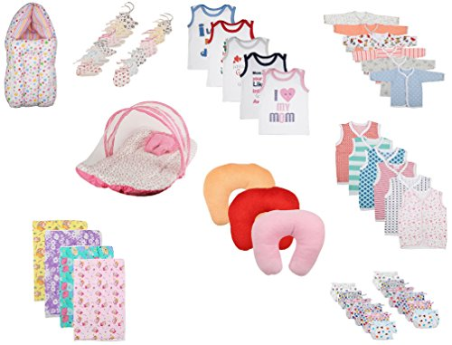 Fareto Combo Of 9 Items Daily Life Of Your Baby(Unisex)(0-6 Months)