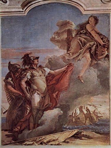Lais Puzzle Giovanni Battista Battista Battista Tiepolo - Fresques, Vénus quitte Énée et Acatus sur la Plage de Libye 1000 Pieces 9424d6