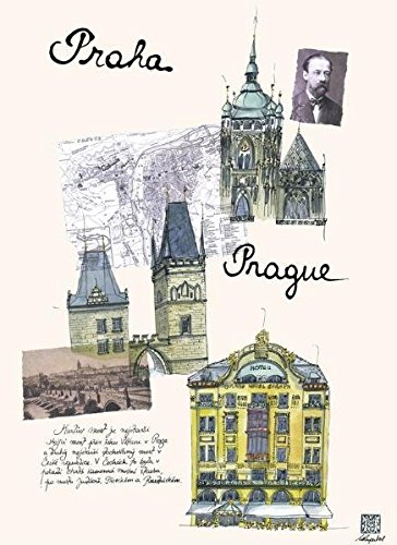 Prague City Journal Large por From teNeues Publishing Company