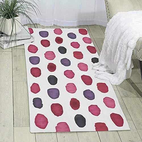 Kennedy Thomson Ellipse Aquarell Spot Print Bereich Teppich Läufer Teppich Wohnzimmer Teppich Flur Teppich Eintrag Teppiche Zimmer Schlafzimmer Teppiche