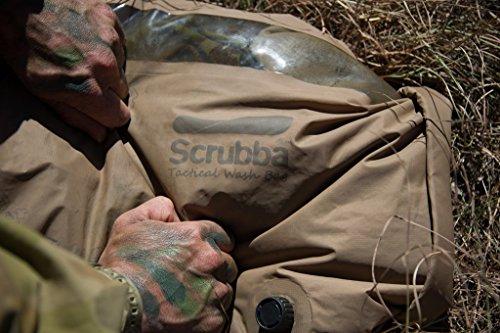 Scrubba Tactical Wash Bag 2.0 - Outdoor Camping Waschmaschine - Waschtasche und Waschbeutel
