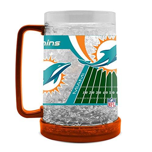 Duck House NFL Miami Delfin, 454 ml, Kristall-Gefriertruhe