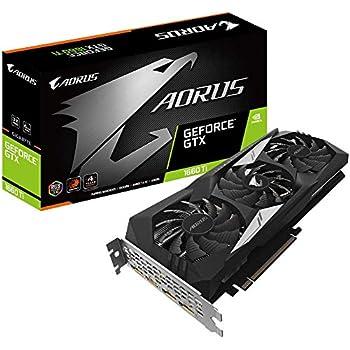 Gigabyte GeForce AORUS GTX 1660 Ti 6GB DDR6 - Tarjeta gráfica ...