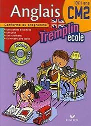 Tremplin Ecole Anglais CM2 (1CD audio)