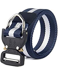 Yra Cobra Tactics Waistband Male Multi-Functional Army Fans Lona Transpirable Outdoors Quick-Release Faja De Entrenamiento Nylon Stripes Belt For Men